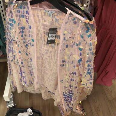Primark Girls Sparkly Wrap - £2 instore @ Primark