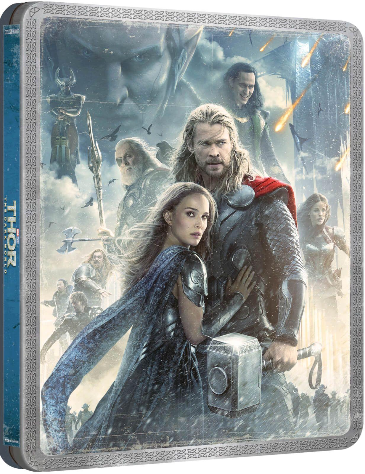 4k blu ray Steelbook Thor Dark World UHD pre order @ zavvi exclusive - £28.99
