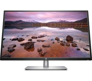 "HP 32s Full HD 31.5"" IPS LCD Monitor - Black & Silver for £139 delivered @ Currys (+2 years guarantee)"