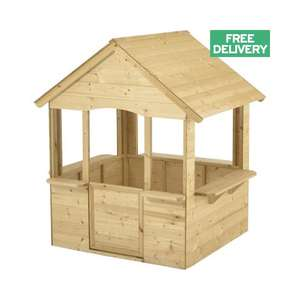 Kid's Royal Pavilion Wooden Playhouse £90.99 + Free Delivery @ JTF