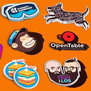£23 for 50 custom magnets at stickermule.com