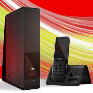 Virgin Media M100 108Mb Unlimited Fibre Broadband with Phone for £25pm / 12mth + £75 bill credit = £18.75pm