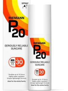 Riemann P20 Once a Day 10 Hours Protection SPF30 Sunscreen 100ml - £6.50 @ Amazon Prime Day Exclusive