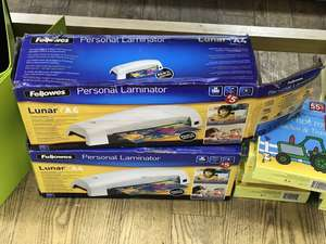 Fellowes Lunar A4 Laminators - clearance. Swansea quadrant. In store @ WH Smith
