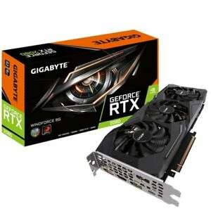 Gigabyte GeForce RTX 2080 WINDFORCE 8GB GDDR6 Graphics Card @ eBay eBuyer - £577.84