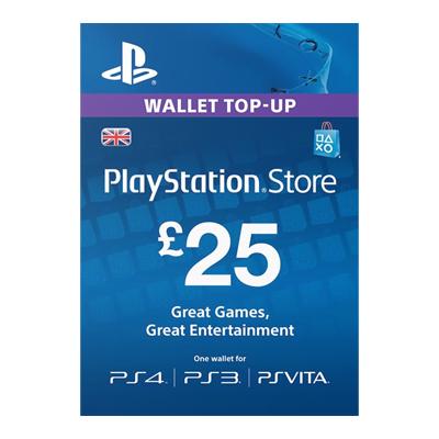 £25 PlayStation PSN Card £21.85 @ Electronic First [PS3 / PS4 / Vita]