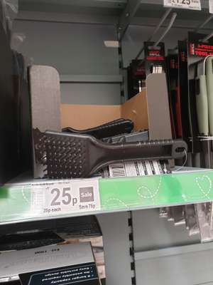 Bbq grill brush was £1 now 25p @ Asda clydebank