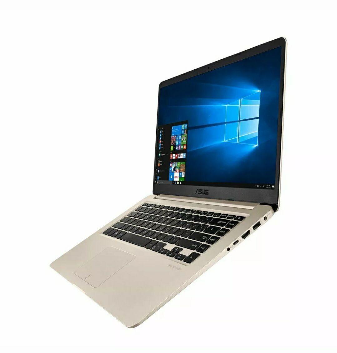 *Refurb* Asus Vivobook Slim S510UQ-BQ520T 15.6 inch FHD i7-8550U 8GB 256GB SSD Gold £499.99 with code @ Electrical-Deals eBay