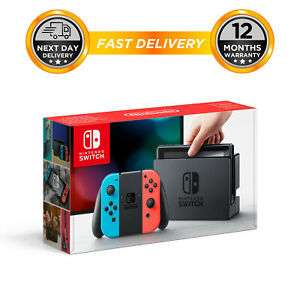Nintendo Switch Console - Neon 32GB £227.19 with code @ hitechelectronics on eBay