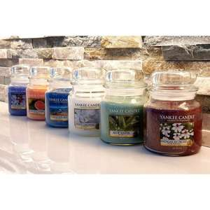 Yankee Candle 6 Randomly Assorted Classic Signature Medium Jars £38 with code or £40.00 without + Free delivery @ Yankee Bundles