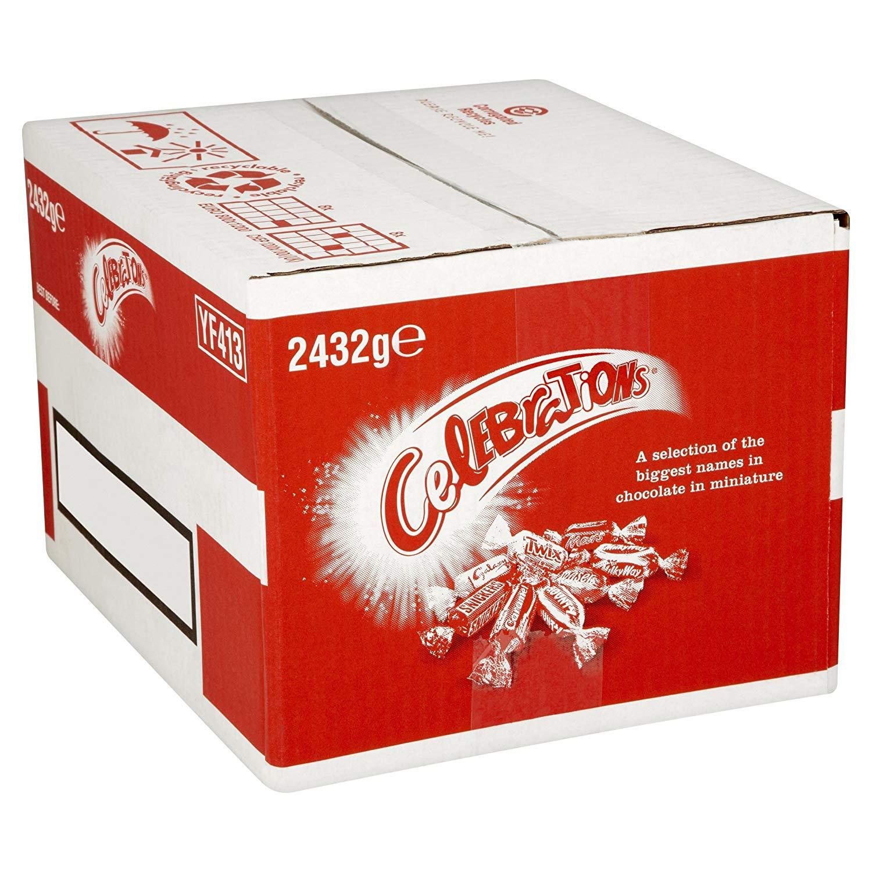 Bulk Case of Celebrations Chocolate (2.432kg) Prime Lightning Deal - £14.49