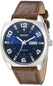 *Prime Exclusive* Seiko Recraft SNKN37 43.5mm S/Steel 7S26 Automatic Watch Brown Leather Strap, 50M WR, Hardlex £73.20 @ Amazon Global Store