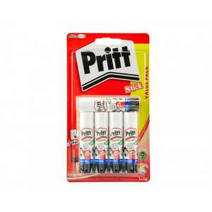 Pritt Stick 5 x 11g £2.99 with Free click and collect @ Ryman