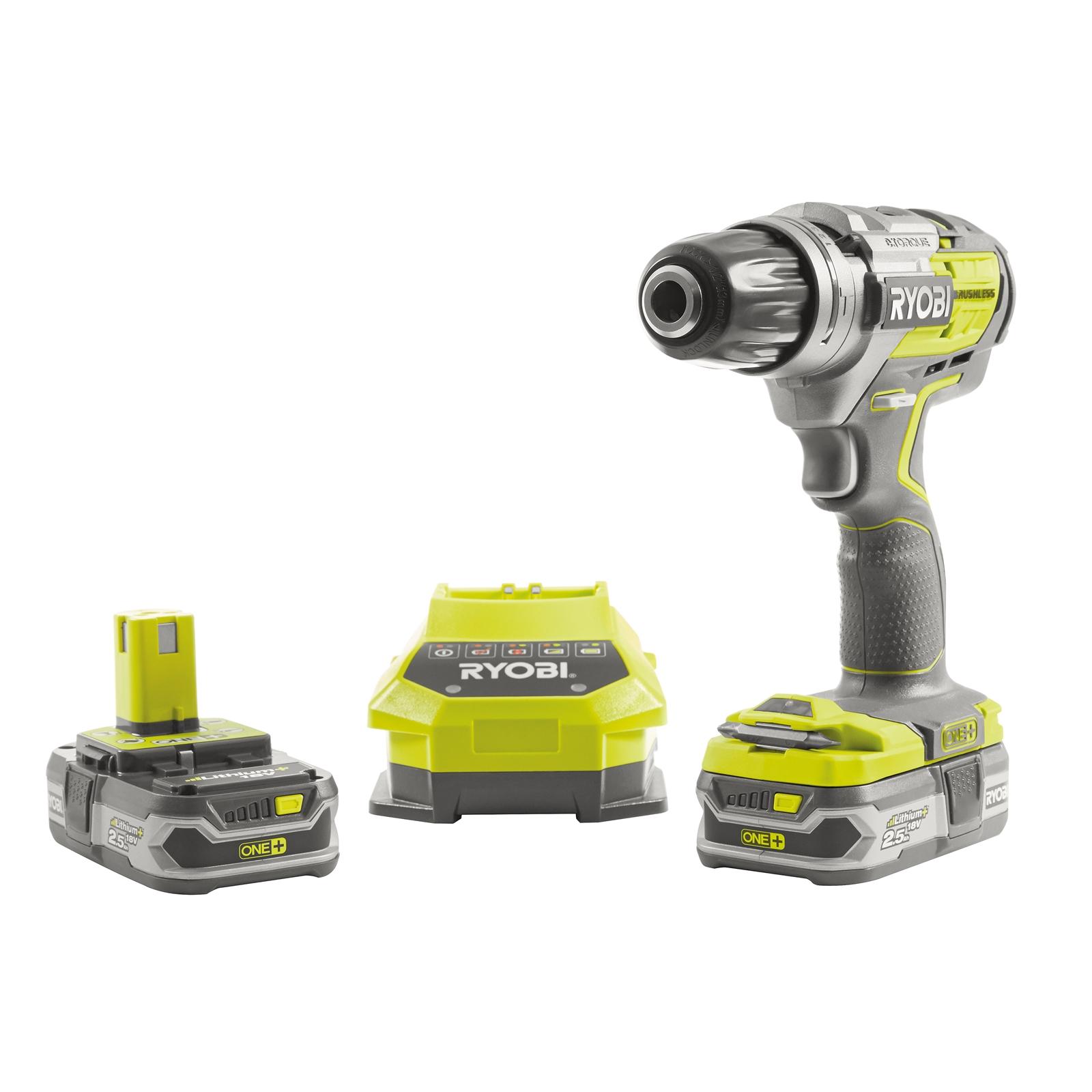 Ryobi Drill and 2 batteries - £71.40 @ Homebase