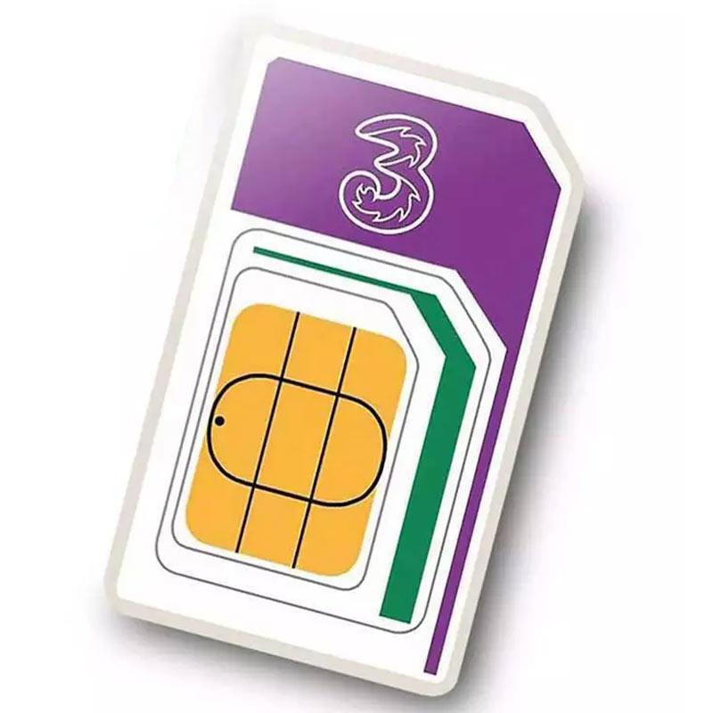Three 12GB sim - £25 @ MyMemory