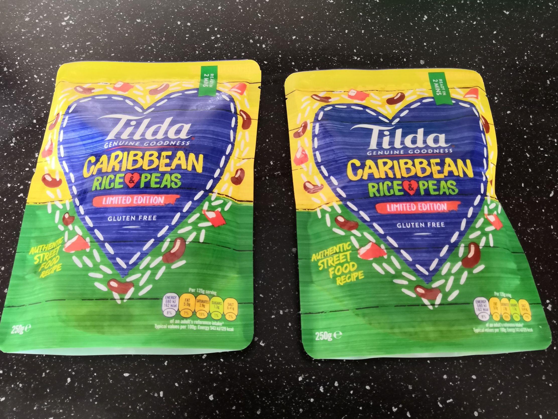 Tilda Caribbean Rice & Peas (beans) 2 for a £1 @ Heron Foods