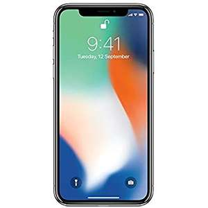 Apple iPhone X 64GB Silver (Renewed - Like New) - £514.50 - sold by Mazuma via Amazon (Prime Day Excl)