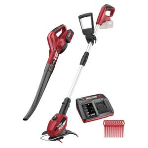 Ozito Power X Change 18V Cordless Blower & Cordless Grass Trimmer Kit - Tools Only (no batteries included) £44.10 @ Homebase