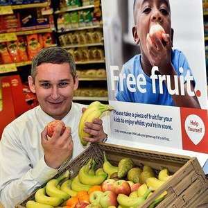 FREE Fruit for kids in-store @ Tesco