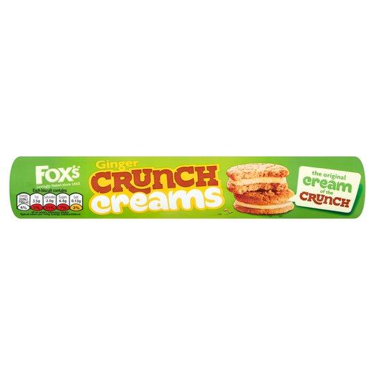 Fox's Ginger Crunch Creams 230G @ Tesco 50p