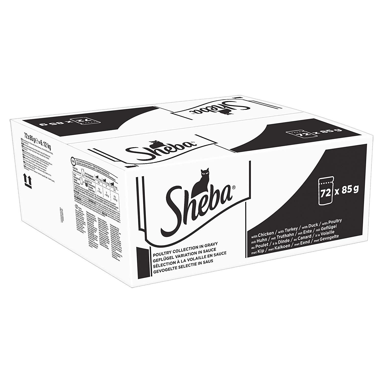 Sheba select in gravy 72 pouches £16.79  @ Amazon Prime day