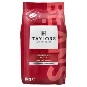 Taylors of Harrogate Espresso Beans (1kg x 3) 20% off for Prime Day @ Amazon, £28.15. Also stacks with subscribe and save, £22.87 at 15%.