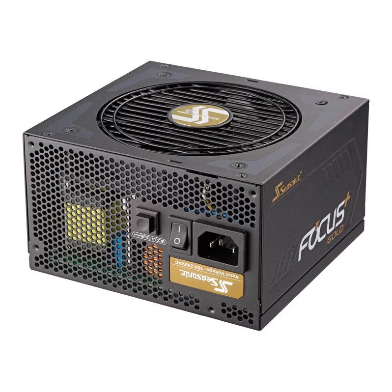 Seasonic Focus Plus+ 750 Watt Gold Modular PSU/Power Supply £85.47 at Scan-10 years warranty