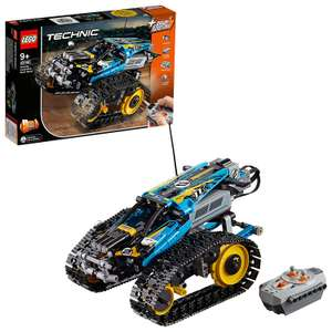 LEGO 42095 Technic Remote-Controlled Stunt Racer now £45.49 delivered with Prime at Amazon