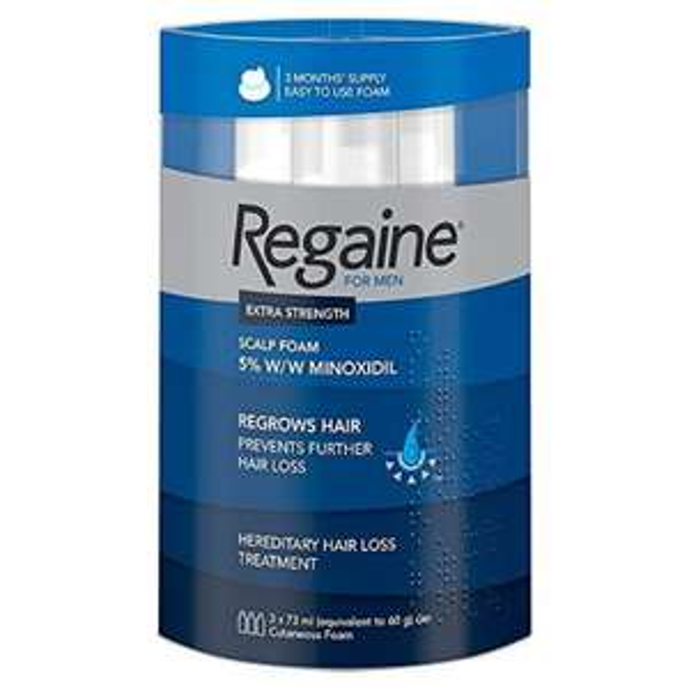 Regaine For Men Hair Regrowth Foam, 3 x 73 ml (Amazon.co.uk Prime day deal until Midnight)