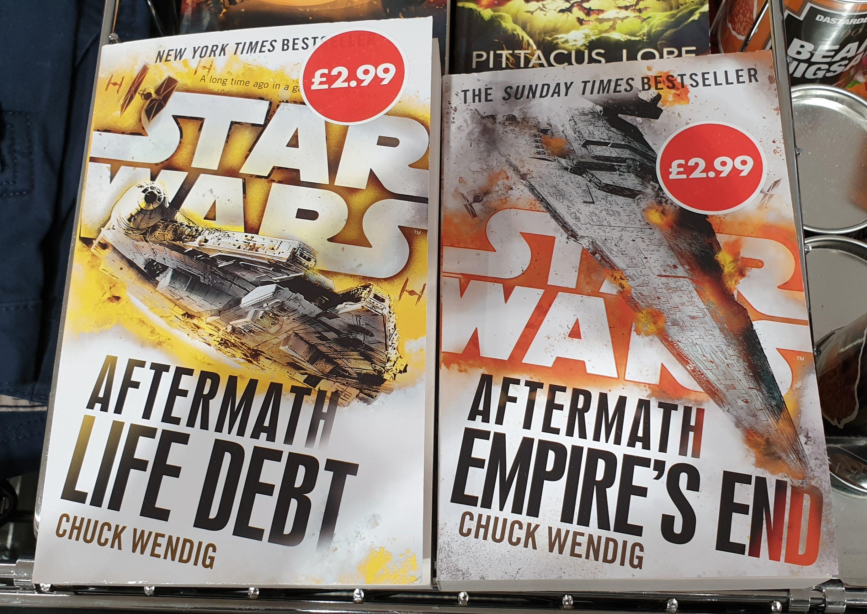 Star Wars Aftermath books just £2.99 in Aldi!