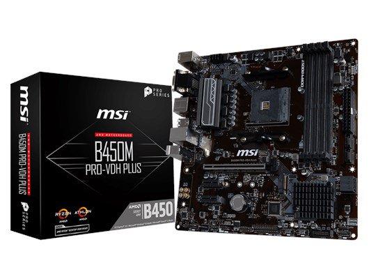 B450M MSI Motherboard AM4 Ryzen £57.99 @ CCL Online
