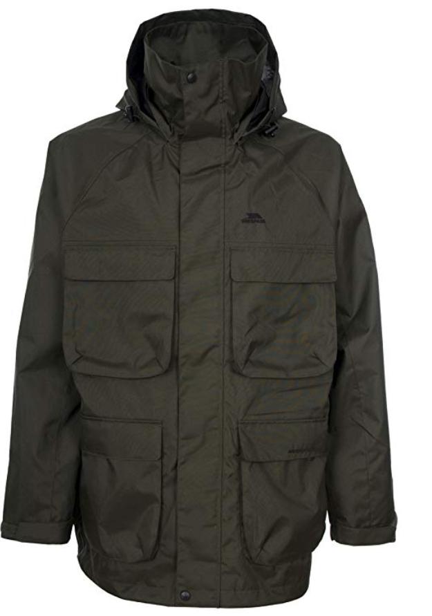 Trespass Men's Streamline Fishing Jacket XS (33-35'' Chest) £6.11 delivered w/prime / £10.60 non-prime @ Amazon