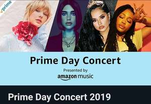 Amazon Prime Day Concert (Cringefest)