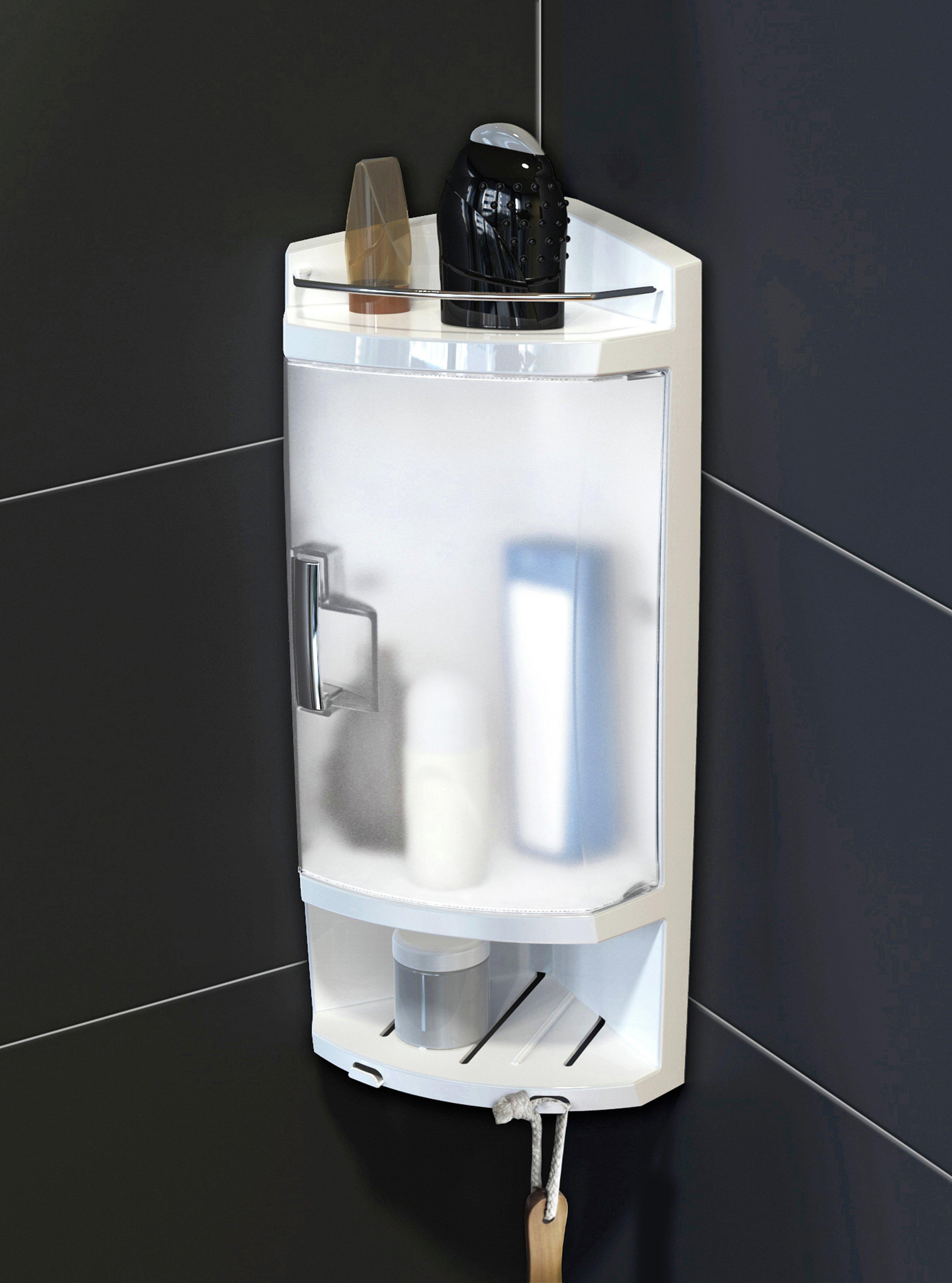Argos Home Frosted Door Corner Bathroom Cabinet - White was £24 Now £12 @ Argos