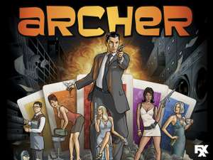 Seasons 1-9 of Archer £19.99 @ iTunes store