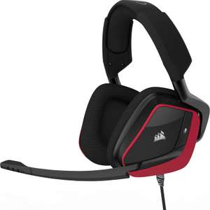 Corsair Void Pro Surround Gaming Headset (PC, Xbox One, PS4, Nintendo Switch) - Carbon/Red £44.79 @ Amazon