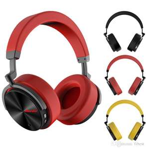 Bluedio T5 Active Noise Cancelling Wireless Bluetooth 4.2 Headphones - £25.88 @ Bluedio Official Aliexpress Store (Spain delivery)