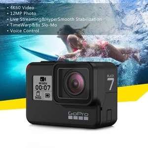 GoPro HERO7 With Duty Free Shipping £280.35 @ TomTop