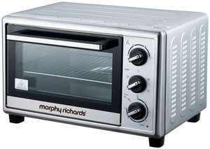 Morphy Richards 23L Rotisserie Mini Oven for £39.99 or Cookworks 9L Toaster Oven £14.99 @ Argos