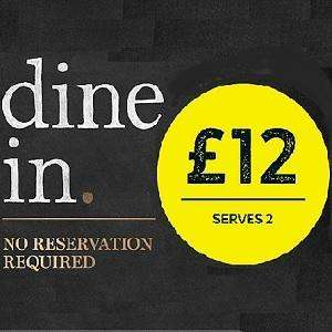 DINE IN FOR £12 - main, side, dessert and a bottle of wine @ m&S (serves 2)
