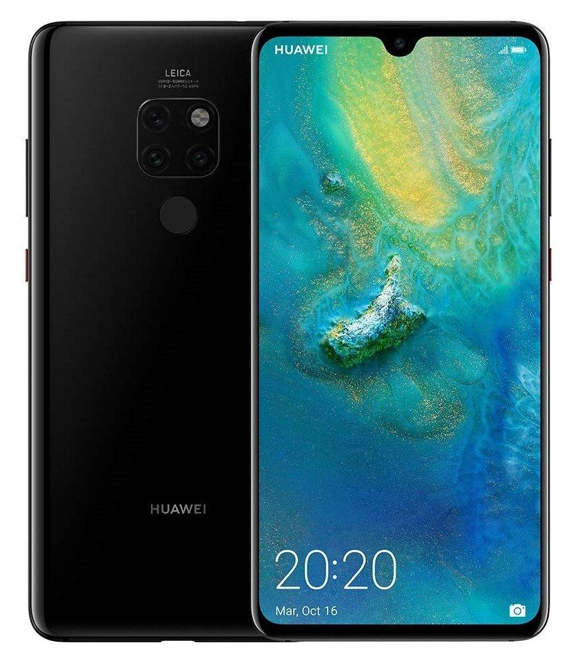 SIM Free Huawei Mate20 128GB Mobile Phone - Black for £399.95
