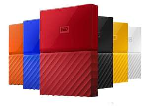 WD My Passport 4 TB Portable Hard Drive for PC, Xbox, PS4 (All Colours) with 3 years guarantee £79.99 delivered @ Amazon