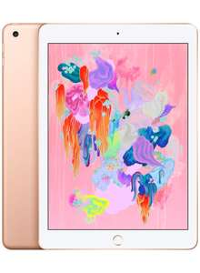 Apple iPad 6th Gen 2018 (Wi-Fi, 32GB) - Gold £262.51 Delivered with voucher @ Amazon
