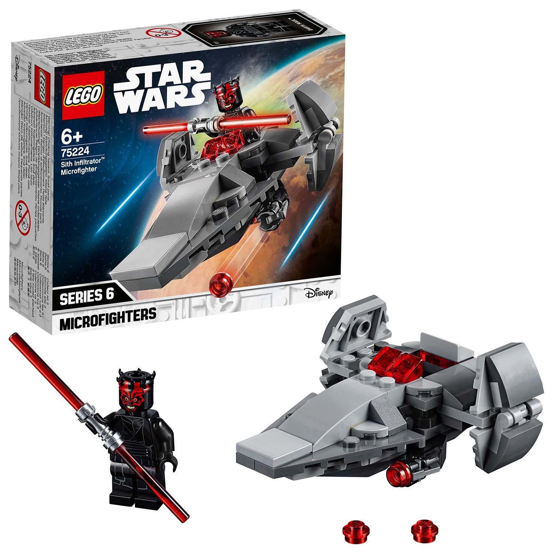 LEGO 75224 Star Wars Sith Infiltrator Microfighter AMAZON £4.99 (Prime) £9.48 (Non Prime)