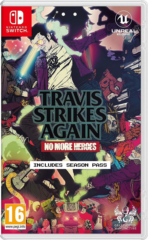 "Travis Strikes Again: No More Heroes - Nintendo Switch - Amazon.co.uk - Prime £16.99 / Non Prime £19.98 *Edited Price"""