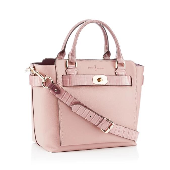 J by Jasper Conran - Pink 'Fitzrovia' Belted Grab Bag, 70% off. Free delivery - £20.70 @ Debenhams