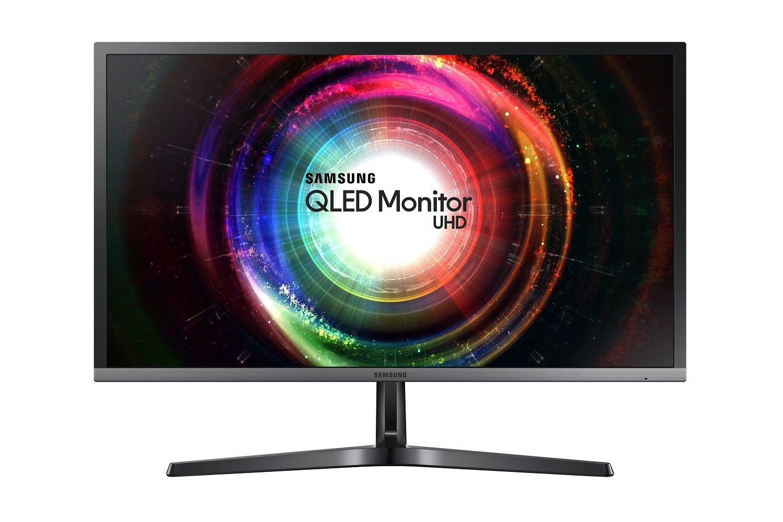 Samsung LU28H750UQUXEN 28-Inch 4K Ultra HD 3840 x 2160 Quantum Dot 1ms LED Monitor - 2xHDMI, Displayport - Black/Silver - £259.97 @ Amazon