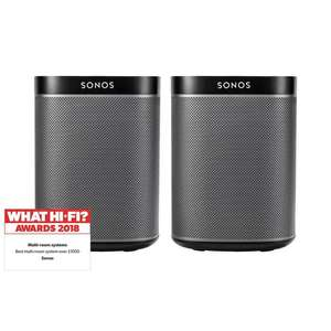 Sonos PLAY:1 (X2) Two Room Set £248 | + 6 Year Warranty @ Richer Sounds