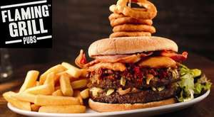 Free Welcome Drink with Voucher @ Flaming Grill Pubs