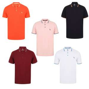 100% Cotton Polo Shirts £5 Each  + £1.99 p&p £6.99 @ Tokyo Laundry - Better value if buying multiple - See OP